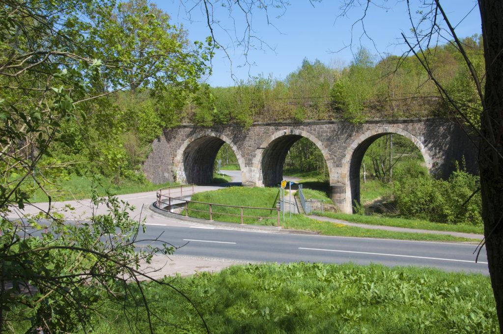 Drei Bogenbrücke am Ortseingang