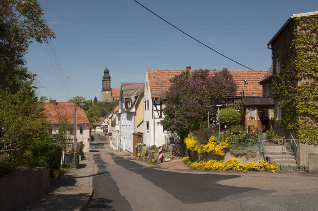 Blick auf Dorfkern